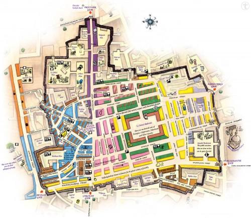 карта – схема Крытого рынка