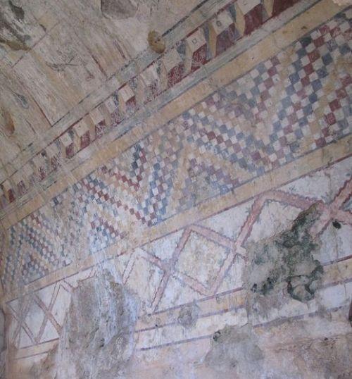 анемуриум стены в гробницах