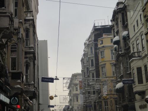 архитектура улица Истикляль Стамбул