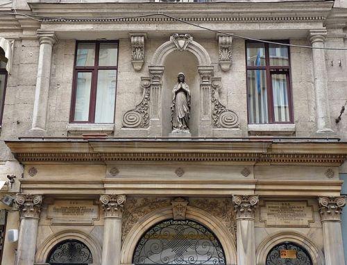 улица Истикляль Стамбул старые дома