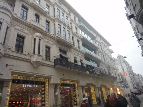 застройка улица Истикляль Стамбул