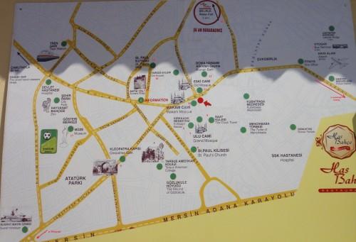 карта Тарсуса