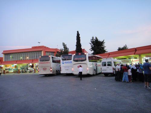 как добраться до Мерсина на автобусе автовкзал отогар