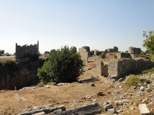 Канлыдиване kanlidivane античный город