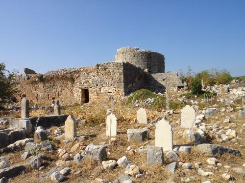Канлыдиване kanlidivane мусульманское кладбище