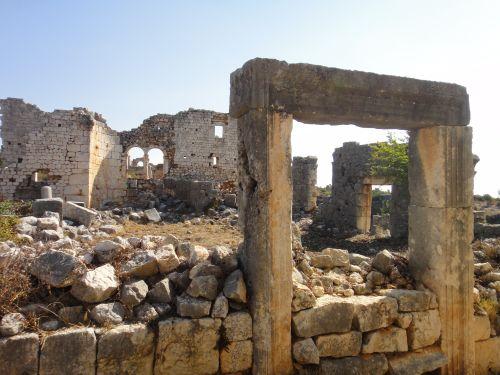 Канлыдиване kanlidivane руины церкви