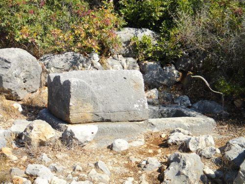 Канлыдиване kanlidivane античное кладбище