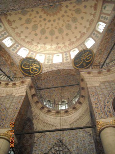 украшение новая мечеть йени джами
