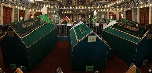 Тюрбе в Новой мечети в Стамбуле