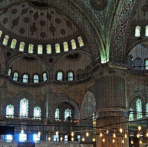 внутреннее пространство новая мечеть йени джами
