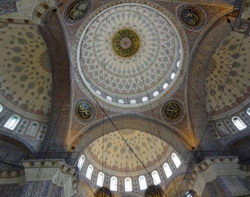арки и купол новая мечеть йени джами