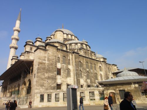 внешний вид новая мечеть йени джами