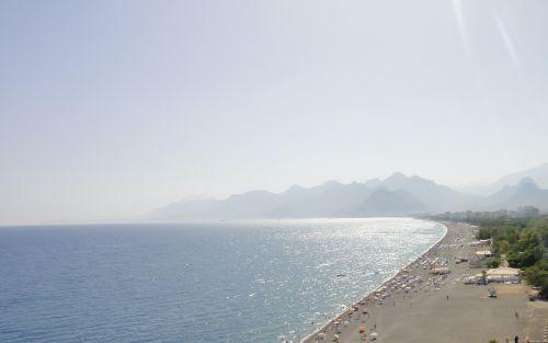 пляж Антальи Коньяалты