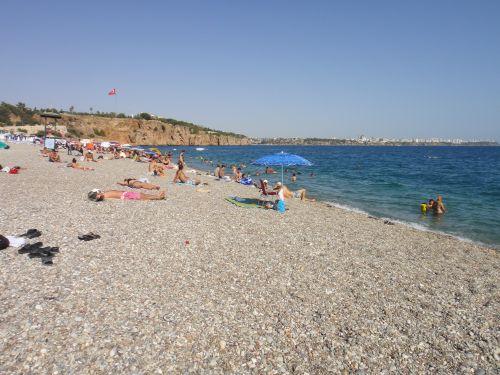 пляжи Антальи beach park