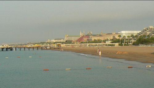 Пляжи Антальи Лара