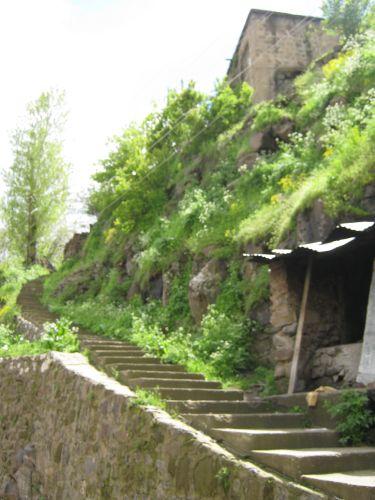 битлис улица лестница