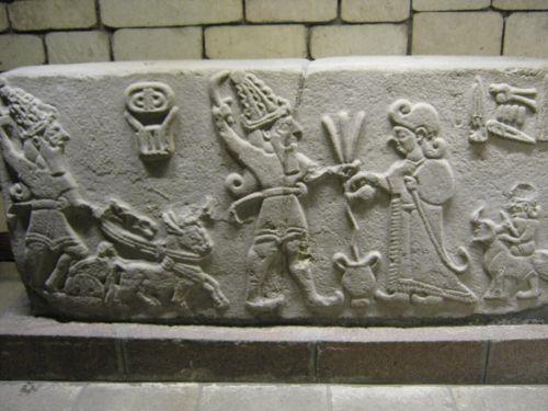 Музей Анатолийских цивилизаций хеттский зал рельефы