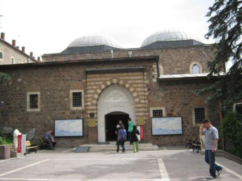 здание Музея Анатолийских цивилизаций в Анкаре