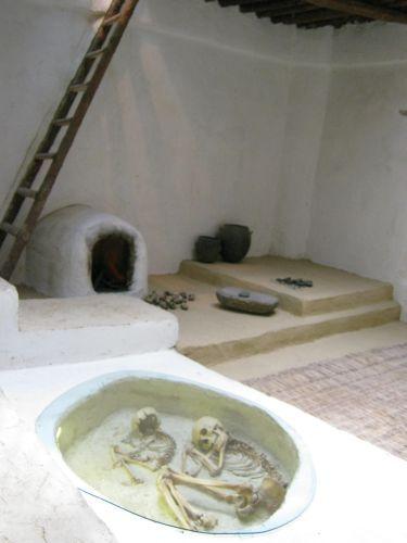 Музей Анатолийских цивилизаций зал неолита