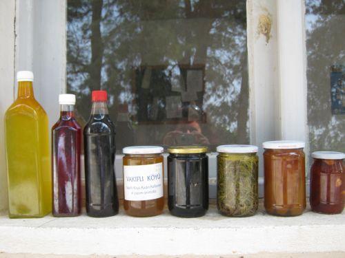 мед и варенье из Вакыфлы Vakifli