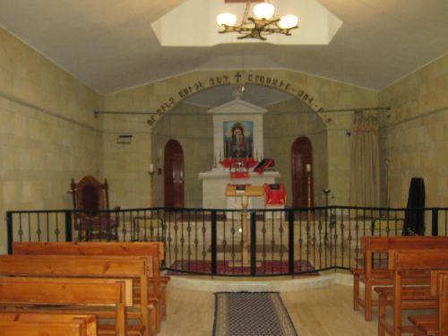 внутри церкви св. Григория Вакыфлы Vakifli