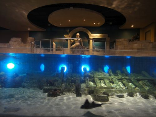 Аквариум Стамбул Istanbul Aquarium зевс