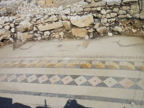 Айяш и Элаусса Себасте древняя мозаика