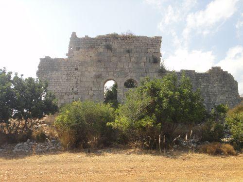 Элаусса Себасте заброшеннный храм