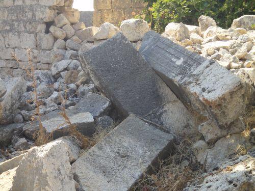 Элаусса Себасте руины христианского храма