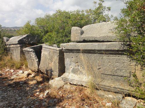 Элаусса Себасте древние саркофаг