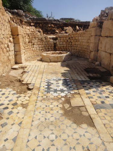 Айяш и Элаусса Себасте мозаика базилики