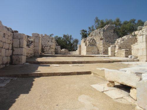 Элаусса Себасте руины дворца
