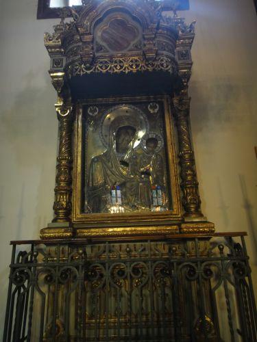 Константинопольский Патриархат Стамбул икона пресвятой Богородицы Фанеромени