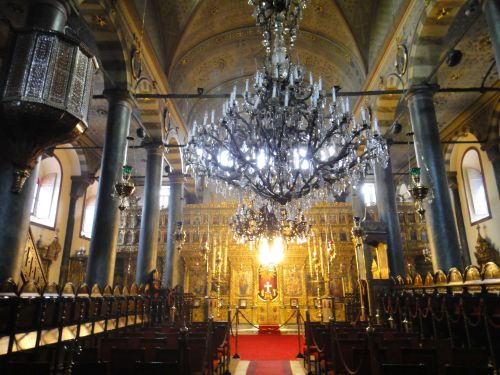 Константинопольский Патриархат Стамбул внутри храма св. Георгия