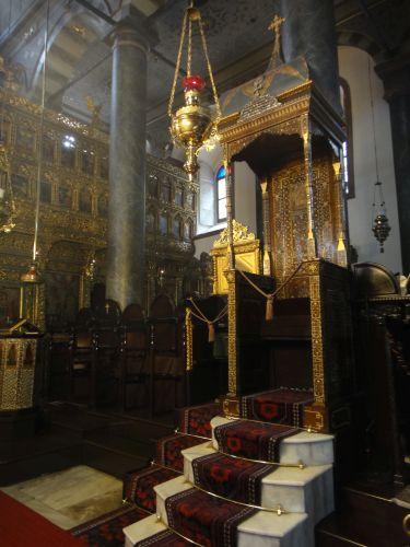 Константинопольский Патриархат Стамбул трон Иоанна Злотоуста
