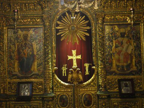Константинопольский Патриархат Стамбул иконостас