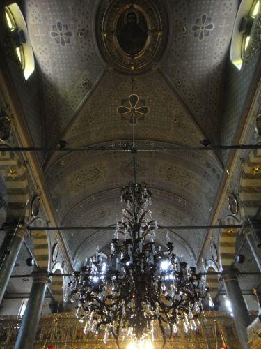 Константинопольский Патриархат Стамбул своды церкви Георгия