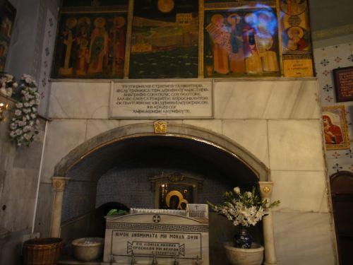 Церковь Влахернской Богоматери стамбул святой источник