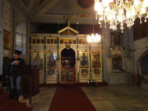 Церковь Влахернской Богоматери стамбул иконостас
