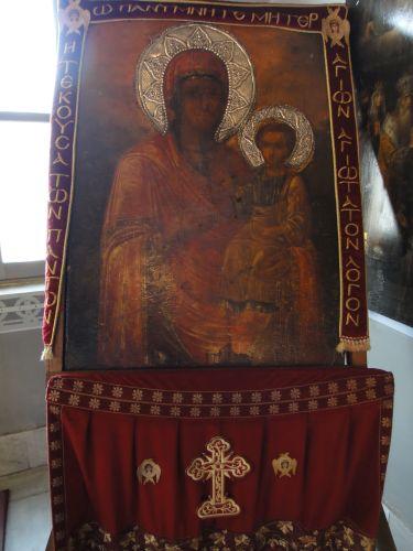 Церковь Влахернской Богоматери стамбул икона