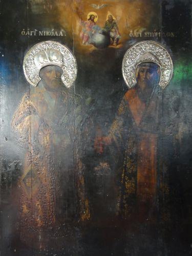 Церковь Влахернской Богоматери стамбул старые иконы