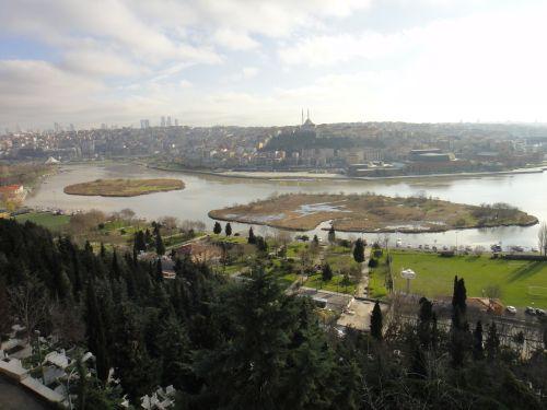 вид на Стамбул со смотровой площадки Пьер Лоти