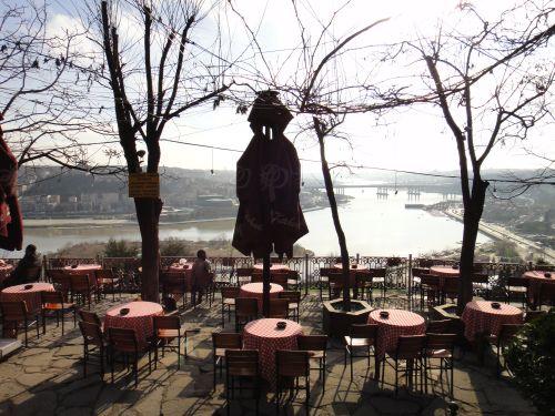 Историчское кафе Пьер Лоти в Стамбуле