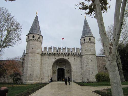 Дворец  Топкапы Ворота Приветствия