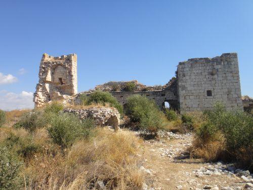 крепость корикос кызкалеси руины