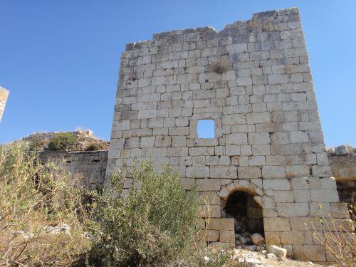 крепость корикос кызкалеси башня