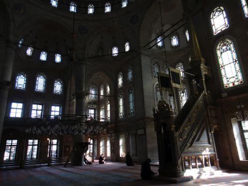 интерьер мечеть Эйюпа