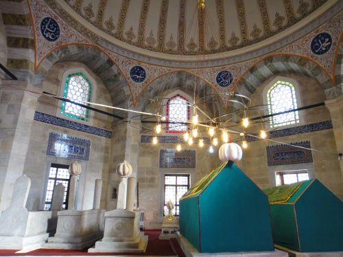 кладбище Эйюп гробница Урьяни заде Ахмед Эсад Эфенди.