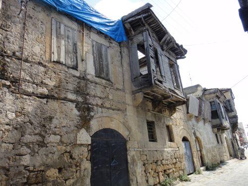 достопримечательности Тарсуса старые дома
