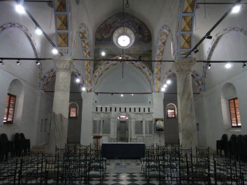 достопримечательности тарсус церковь св. Павла интерьер